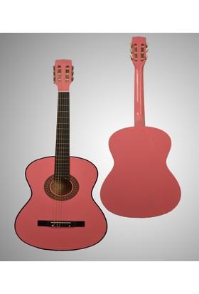 Andres Klasik Gitar Pembe Tam Boy