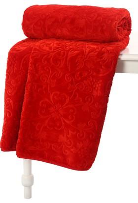 Özdilek Çift Kişilik Battaniye Prestige Prestij Kırmızı 220x240cm