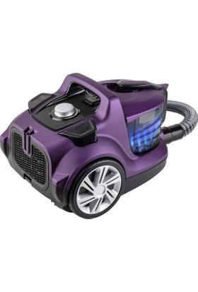 Fakir Veyron Turbo XL Premium Toz Torbasız Kuru Vakum Süpürgesi - Mor