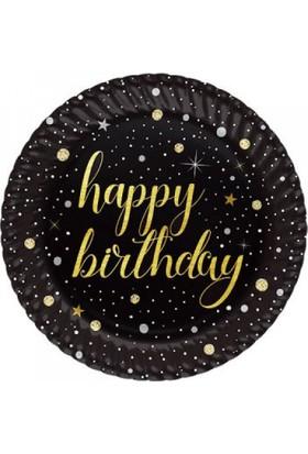 Happy Birthday Yetişkin Doğum Günü Tabak 8 Adet