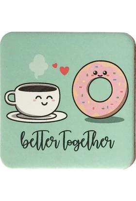 Gogo Better Together 1 Bardak Altlığı Seti
