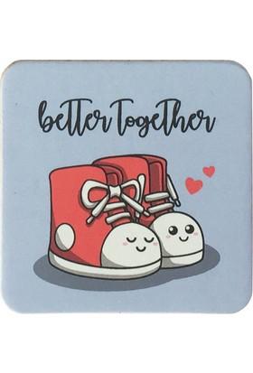 Gogo Better Together 2 Bardak Altlığı Seti