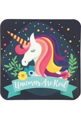 Gogo Unicorns Are Real Bardak Altlığı Seti