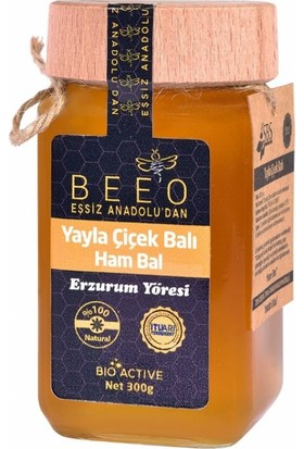 Bee'o Erzurum Yöresi Ham Bal 300 Gr.