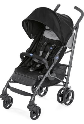 Chicco Lite Way3 Top BB Baston Bebek Arabası Siyah