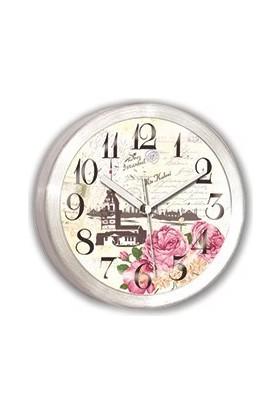 Time Gold Alüminyum Mıknatıslı Buzdolabı Saati-11cm TG191K6