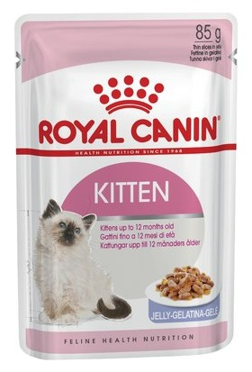 Royal Canin Kitten Instinctive In Jelly Yavru Kedi Jel Konservesi 85Gr