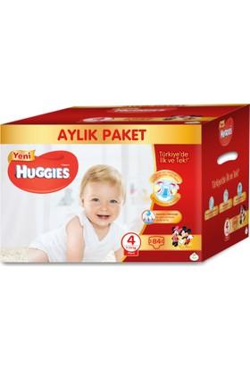 Huggies Bebek Bezi 4 Beden Aylık Paket Maxi 84 Adet