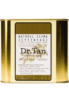 Dr. Tan Erken Hasat Soğuk Sıkım Natürel Sızma Zeytinyağı 2 lt Teneke