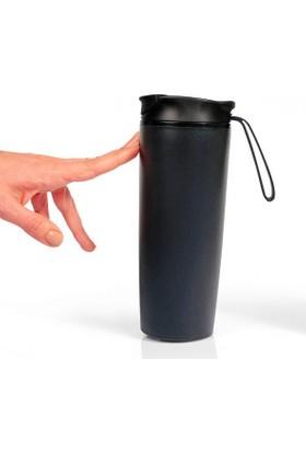 Pratigo Devrilmez & Sızdırmaz Mug Bardak Dış Cephe Siyah