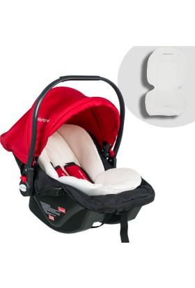 Baby Home Bh 500 Comfort Ana Kucağı Puset Oto Koltuğu - Siyah Kırmızı