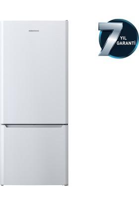 Grundig GKNE 4800 A+ 475 Lt NoFrost Kombi Tipi Buzdolabı