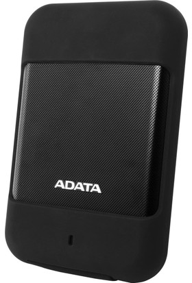 "Adata HD700 1TB 2.5"" USB 3.1 Suya Darbeye Dayanıklı Taşınabilir Disk AHD700-1TU3-CBK"