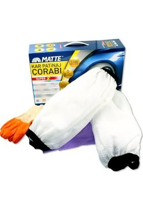 Matte Kar Çorabı® Superx / Medıum 225/35R/18 (Kanada Patentli)