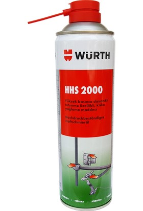 Würth HHS 2000 Sıvı Gres 500 Ml. 0893 106 Made in Germany