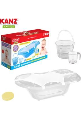 Kanz Giderli Bebek Banyo Küveti 5 Parça