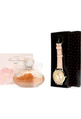 Avon Far Away Bella Kadın Parfüm + Saat 2 li Set Paketi