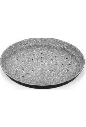 Altınbaşak Granit Delikli Pizza Tavası 18 Cm - Zafer Endüstriyel Mutfak
