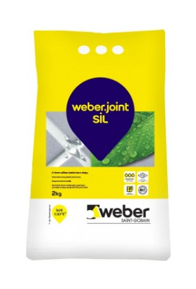 Weber Silikonlu Derz Dolgusu 2 Kg Beyaz