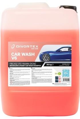 Divortex Car Wash V6 Fırçasız Araç Yıkama Köpüğü 25 kg.