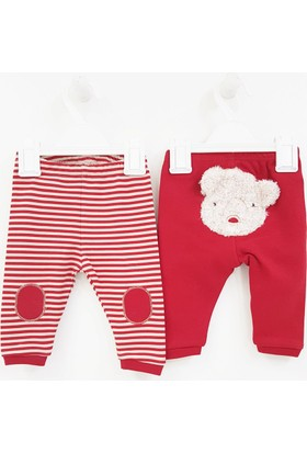 Andywawa AC8183 Baby Bear 2'li Bebek Pantolonu