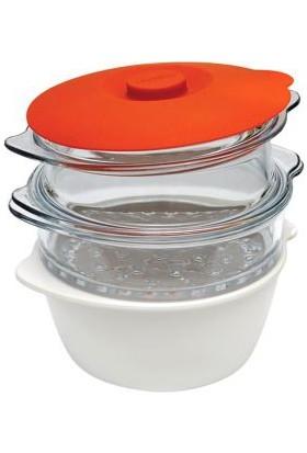 Pyrex Multicook Buharlı Pişirme ve Fonksiyonel Tencere