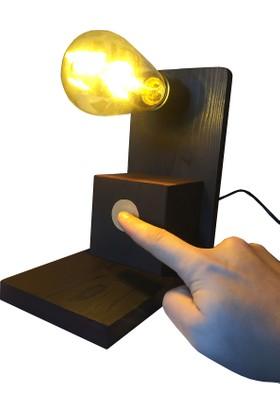 Dokdesign Dokunmatik Masa lambası E27 Duy