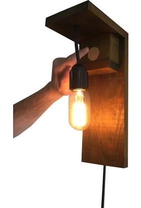 DokDesign Dokunmatik kontrollü 4 kademeli duvar aplik aydınlatma Dimmer