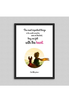 Küçük Prens Çerçeveli Poster