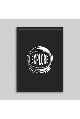 Explore Çerçeveli Poster