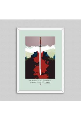Game of Thrones Motto Çerçeveli Poster