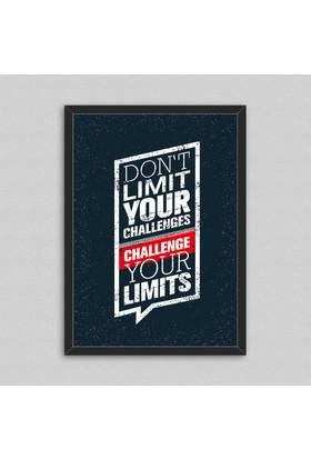 Çerçeveli Motto Poster