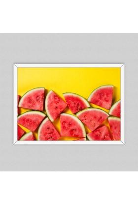 Watermelon Çerçeveli Poster