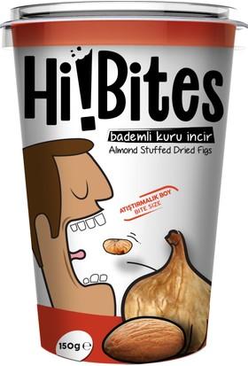 Hi!Bites Atıştırmalık Kuru İncir - Bademli 150 gr