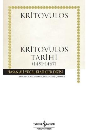 Kritovulos Tarihi 1451-1467