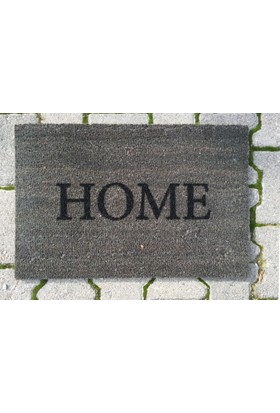 Giz Home Koko Kapı Paspası 40X60 Gri Home