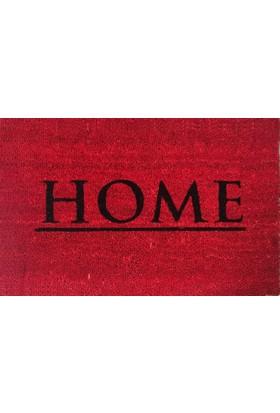 Giz Home Koko Kapı Paspası 40X60 Kırmızı Home