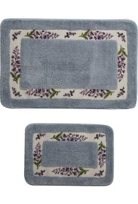 Giz Home Lavender Klozet Takımı 2Li Blue