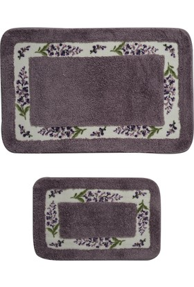 Giz Home Lavender Klozet Takımı 2Li Purple