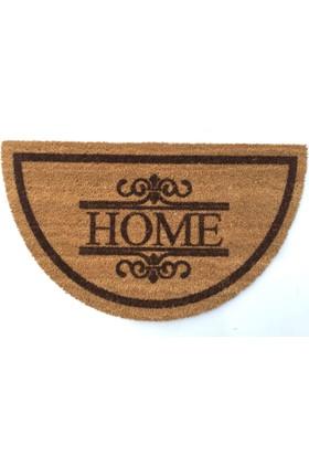 Giz Home Koko Kapı Paspası 40X70 Yarımay Home Nakıslı