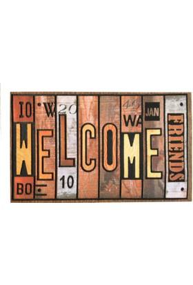 Giz Home Mozaik Kapı Paspası 40X60 8857-02