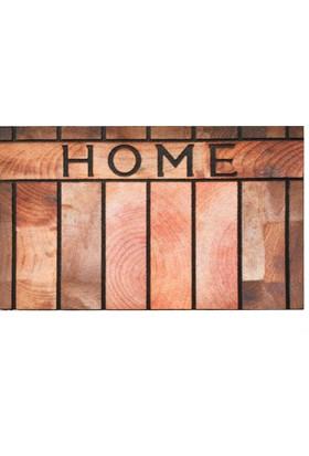 Giz Home Mozaık Kapı Paspası 45X75 Ahsap Home