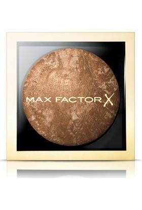Max Factor Creme Bronzer Light Gold 05