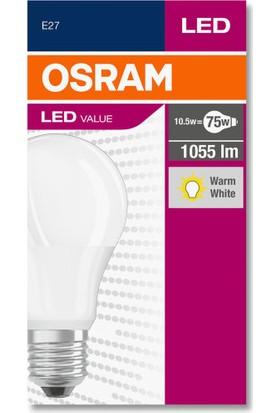 Osram 10.5 Watt 1055 Lumen 2700 Kelvın Sarı Işık E-27 Led Ampul