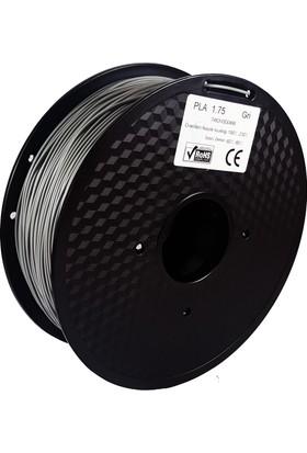 Filament Dünyası Gri PLA 3D Yazıcı Filamenti 1.75mm - 1kg