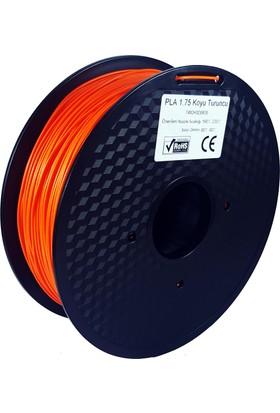 Filament Dünyası Koyu Turuncu PLA 3D Yazıcı Filamenti 1.75mm - 1kg