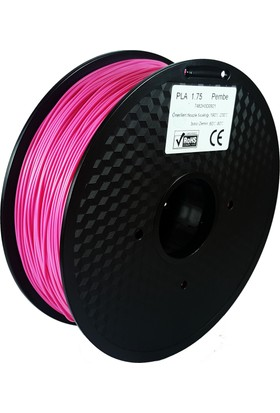 Filament Dünyası Pembe PLA 3D Yazıcı Filamenti 1.75mm - 1kg