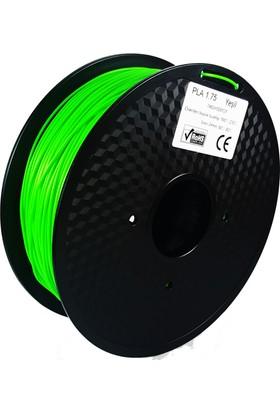 Filament Dünyası Yeşil PLA 3D Yazıcı Filamenti 1.75mm - 1kg