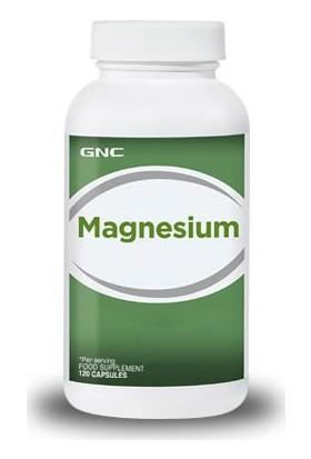 Gnc Magnezyum 120 Kapsül