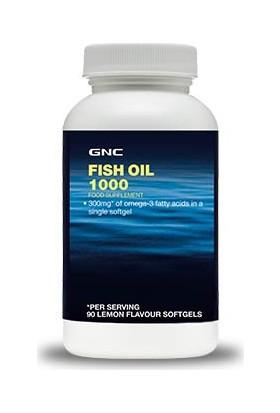 Gnc Fish Oil 1000Mg Limon Aromalı 90 Soft Jel Kapsül